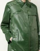 3.1 Philip Lim Long Coat Womenand039s Size Xs Green Long Sleeve Mid-length Authentic