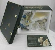 New In Box Dept 56 Snowbabies Guest Collection Tea For Two Alice In Wonderland