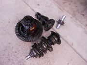 Allis Chalmers Wd Wd45 45 Ac Tractor Matchd Set Transmission Drive Gears Pinion