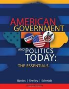 American Government And Politics Today The Essentials 17th Edition