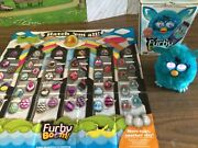 Teal Furby Boom With Box And All Instructions Sheet,the Real World Interaction