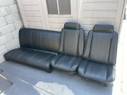 1970 Chevelle Bucket Seats And Rear Bench