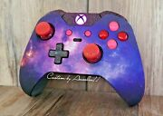 💓xbox One Elite Wireless Controller Custom Galaxy Red Scuf Ice Pink/pur Led💖