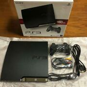 Sony Ps3 Playstation3 Console Cech-2500a 160gb Controller Game Soft Used