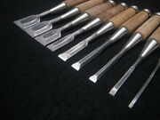 Used Chisel 9-pieces Set Carpenter Woodwork Tools
