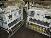 2 Each Airborne Life Support Infant Transport Incubators--not Working
