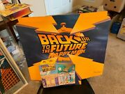 Vintage 1990s Back To The Future Happy Meal Store Display Sign Rare