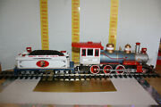 Working Bachmann G Scale Emmett Kelly, Jr Circus 4-6-0 Locomotive And Tender 49