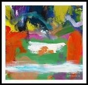 Large Abstract Painting Modern Art For Homeandofficeandcommercial Spaces Milk Pool