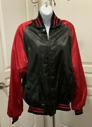 Men's Women's Size Large College House Red Dog Saloon Jacket With Liner
