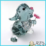 Used Disney Collaboration Bambi Thumper Object Crystal W43 H50 D36mm