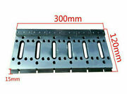 Wire Cut Edm Fixture Board Stainless Jig Tool Clamping And Leveling 300x120x15mm