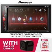 Rfrb Pioneer Avh-210ex Dvd Receiver With Backup Camera