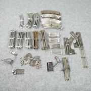 Lot Of 70 Lionel 3 Rail Train Track Straight And Curved O Gauge Parts 1024 Switch