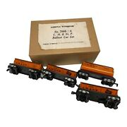 Marx 7666-4 C. M. And St. P Ballast Car Set- Rare In Factory Box- Brand New