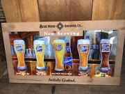 Blue Moon Brewing Co. Led Sign With Wood Frame 40x22