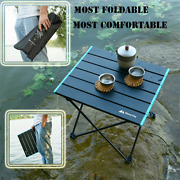 Portable Folding Table Outdoor Camping Home Barbecue Picnic Ultra Light Aluminum
