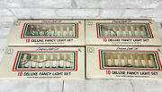 Vintage 4 Boxes Clip On Candle Lights Light Set Christmas Tree Dripping Candles