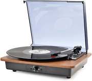 Vinyl Record Player Bluetooth Turntable With Speakers Vintage Record Players Old