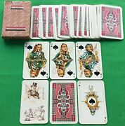 Rare Old 1930s Vintage Russian State Anti Religions Propaganda Playing Cards