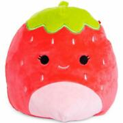 Squishmallows Kellytoy Official 16 Scarlet The Strawberry Fruit Plush Doll Toy