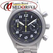 Omega 5240.50 Dynamic Chronograph Menand039s Vintage / 37674 From Japan N1008