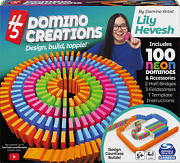 H5 Domino Creations 100-piece Neon Set By Lily Hevesh For Families And Kids 5