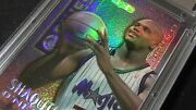 1995-96 Topps Finest Shaquille Oand039neal Mystery Borderless Refractor Cgs 10 Shaq