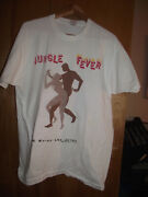 Rare 90s Jungle Fever Spike Lee T-shirt Xl 40 Acres And A Mule From Set