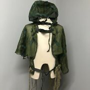 Web-tex Tactical Lightweight Concealment Ghillie Vest One Size Genuine Military