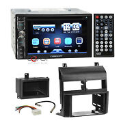 Concept Dvd Usb Mirrorlink Bluetooth Stereo Dash Kit Harness For 88-94 Gm Chevy