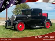 1930 Ford Model A Street Rod Classic Car Hot Rod M0dle A 1930 Ford Model A Street Rod Classic Car Hot Rod M0dle A 36420 Miles Black Co