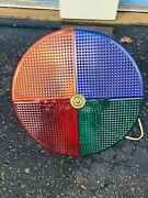 Vintage Holiday Rotating Color Wheel Light For Aluminum Christmas Tree - Works