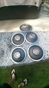 Five 1968 To 1972 Ford Ltd Galaxie 500 15 Inch Deluxe Hubcaps Wheels Covers