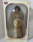 Disney Limited Edition Wedding Rapunzel Doll Tangled Ever After 17 2012 New