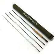 Loop 590-4 Multi 9'0 Fly With Case Rank Rod Pole Fishing From Japan
