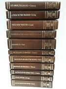 Lot Of 11 Leather Classics Of The Old West Time Life Books Set 1981 Very Good