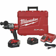 Milwaukee 2803-22 - Drill Driver Kit With Two Xc 5.0 Battery Packs And Carry Case
