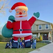 26ft Inflatable Giant Santa Clause Christmas Holiday Promotion Outdoor Decor