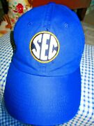 Sec Team Logo Embroidered Top Of The World Hat Baseball Cap
