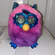 Furby Boom Crystal Series Hasbro Interactive Talking Toy Pink Purple Blue Tested