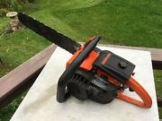 Lombard Vintage Chainsaw Starts Easy Runs Strong Comango 56ccstrong Metal Saw