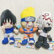 Tagged Naruto Plush Doll Set From Japanex Condition