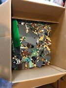 Incomplete Harry Potter Lego Sets Lot Quidditch Hagrids House Hogwarts Over 8lbs
