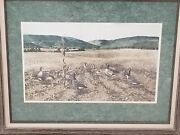 Limited Edition Signed And Numbered Lithograph By Sandy Lynam Clough 404/1000