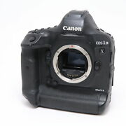 Canon Eos 1dx Mark Ii Body Under 100 Shots With Replaced Unit