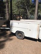Powers St Louis Made In Usa Vintage Service Truck Bed Mccabe Rare Utility Bed