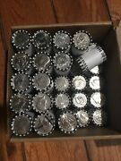 Three 3 Unsearched Kennedy Half Dollar Rolls Possible 40 Or 90 Silver Coins