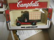 Vintage 1998 Campbell's Soup 100th Anniversary Die Cast Cars Trucks Lot Of 7