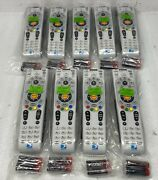 Lot Of 9 Directv Ir-xmp Rc66x H24/hr24 And Above Universal Remote Controls